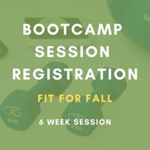 Bootcamp session registration